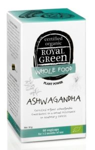 Royal Green Bio Ashwagandha 60 kapslí